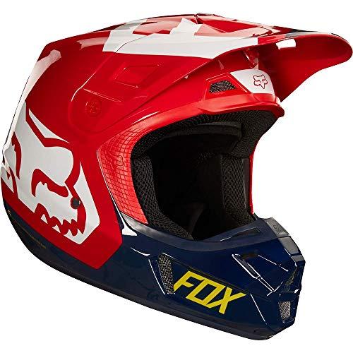 Fox Helmet V de 2Preme, Navy/Red, tamaño L
