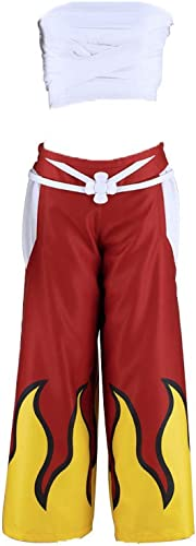 Fairy's Tail Cosplay Kostuem Natsu 3rd ver Kostuem after seven years Kid Large