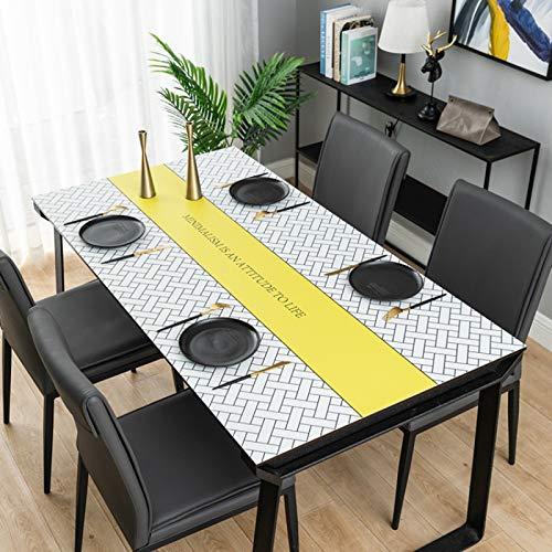 sans_marque Mantel de mesa, puede limpiar el mantel de mesa, limpiar la cubierta protectora impermeable de la mesa, se utiliza para la cocina picnic al aire libre interior80 x 120 cm