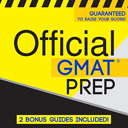 Official GMAT Prep audiobook cover art