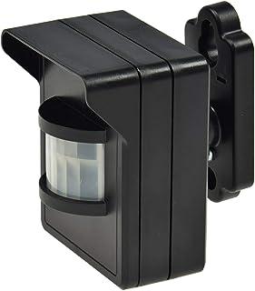 Pilota Casa - Detector de movimiento por radio (para interiores y exteriores, IP44,