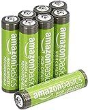 Amazonベーシック 高容量充電式ニッケル水素電池単4形8個パック