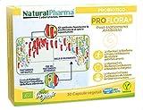Natural Pharma Labs. Probiotici Biologici ProFlora+. Riparazione dei Danni causati dagli Antibitici. Vitamina C + B2 + Folato. Probiotici Naturali. Senza Glutine, Senza Lattosio, Vegani.