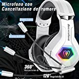 Zoom IMG-2 cuffie gaming per ps4 xbox
