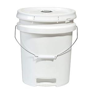 5 gallon Bucket  Food Grade   Ergonomically Designed   BPA Free