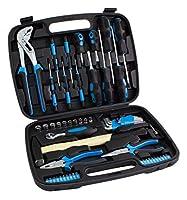 Karcher maletín de herramientas - 57 piezas incluye martillo, alicates, juego...