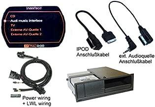 Kufatec nachrüst Juego de AMI (Music Interface) iPod MMI 2G ext. Fuente de Audio