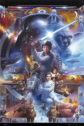 1art1 Star Wars - 30th Anniversary Poster 91 x 61 cm