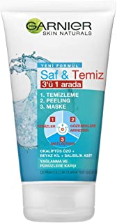 Garnier Skin Naturals Saf & Temiz 3ü 1 Arada 150ML 1 Paket (1 x 150 ml)