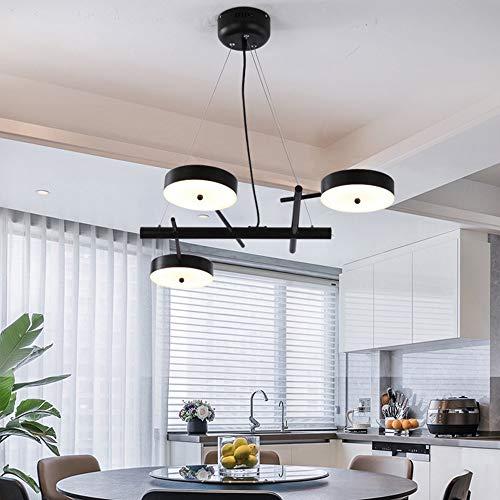 BBYT Lámpara de Techo Lámpara Restaurante luz lámpara de luz Tres Cabezas diseño Simple Creativo Personalidad Arte posmoderno Estilo Sala de Estar Dormitorio Dormitorio Lobby Luces de Lujo