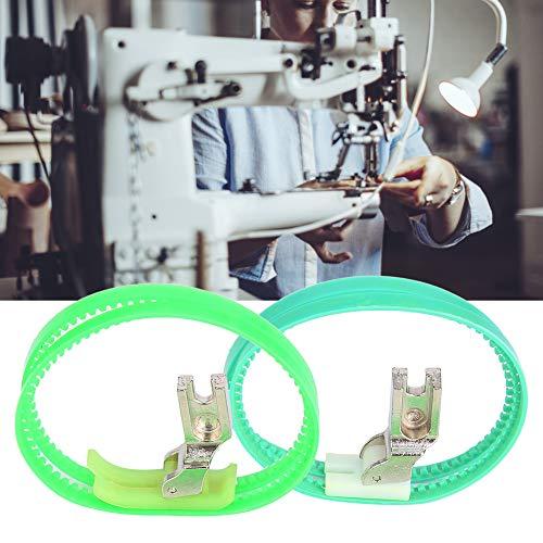 Nannday Prensatelas de Rodillo, máquina de Coser Industrial Prensatelas de Rodillo Rodillo Doble Prensatelas de un Solo Lado Izquierdo/Derecho
