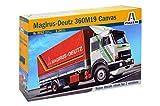 Italeri 510003912 - 1:24 Magirus Deutz 360 M19, Modellautos -