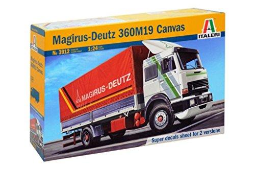 Italeri 510003912–1 : 24 Magirus Deutz 360 M19, modèle Voitures
