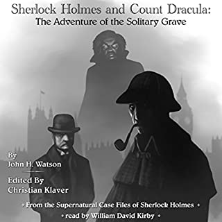 Sherlock Holmes and Count Dracula audiobook cover art