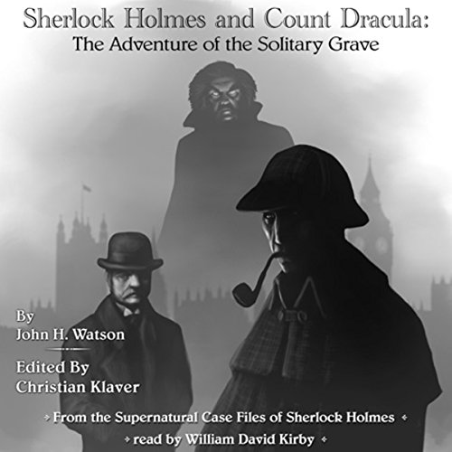 Sherlock Holmes and Count Dracula cover art