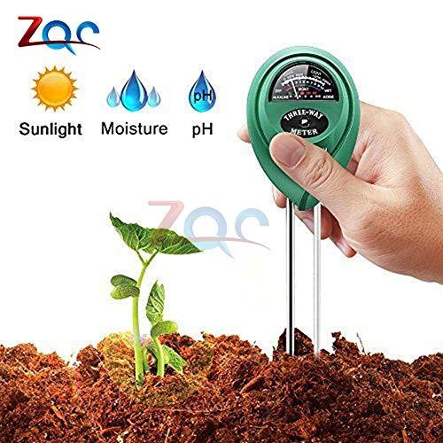 3 1 medidor humedad agua pH suelo Acidez humedad luz