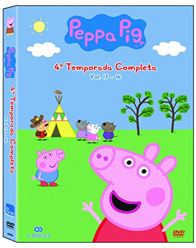 Peppa Pig Temporada 4 [DVD]