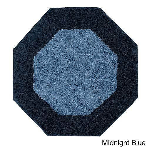 Madison Frisse Teppich, achteckig, 183 x 183 cm, Mitternachtsblau