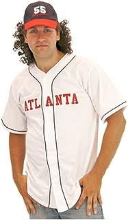 Atlanta #55 Kenny Powers Baseball Jersey