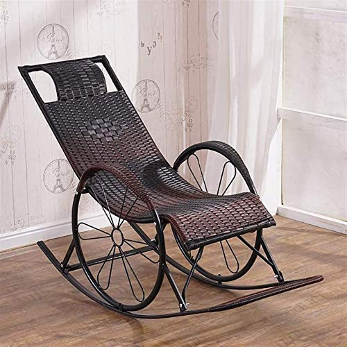 Chaise Longue, Life Office Life Zero Gravity Chair confortable Relax Rocking Chair, Chaise longue en métal Backrest Backrest de jardin Pause paresseuse Pause Fauteuil Easy Chaise Sun Lounger (Couleur: