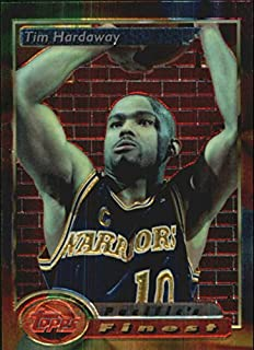 1993-94 Topps Finest Basketball #127 Tim Hardaway PF