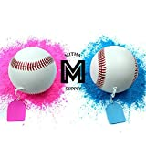 Baseball Gender Reveal Ball | Gender Reveal Baseball Balls Pink and Blue