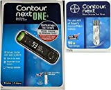 Bayer Contour Next ONE Glucose Monitoring System Wireless Meter kit and Next Blood Glucose50 Test Strips