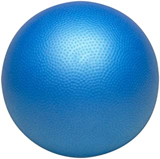Valeo 9-inch Core Training Ball for Barre,  Pilates,  Core Training,  Improves Core Strength,  Balance,  and Strength,  VA4448BL
