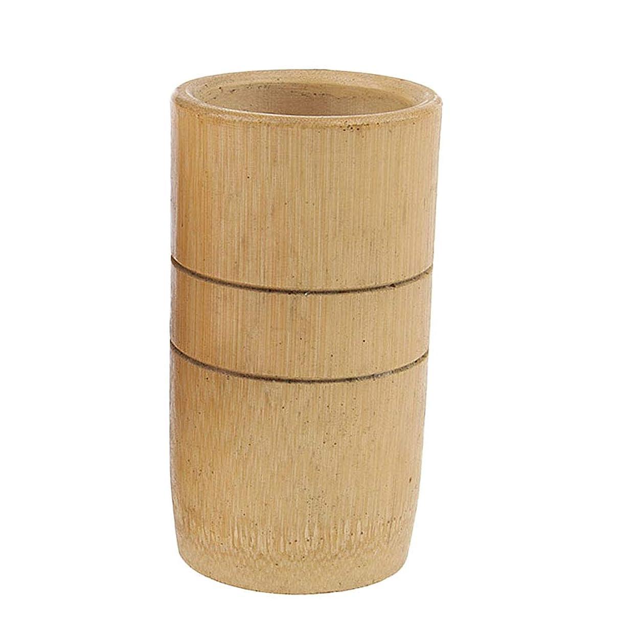 有効ぞっとするようなあたりマッサージカップ 吸い玉 カッピング 天然竹製 男女兼用 2個入
