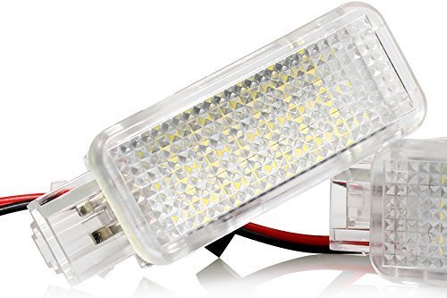 Light-Delux V-030901-1 LED Fußraumbeleuchtung Kofferraumbeleuchtung Türeinstiegsleuchten Schminkspiegel Handschuhfach
