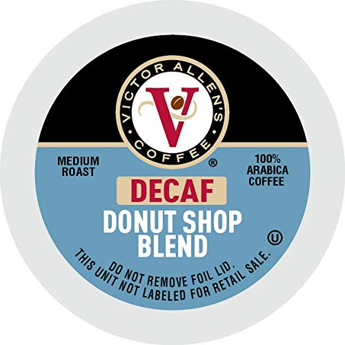 Victor Allen Coffee Decaf Donut Shop Single Serve K-Cup, 80 Count