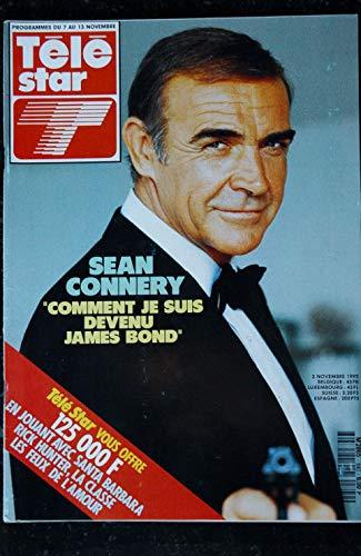 TELE STAR 840 2 novembre 1992 Cover Sean Connery + 4 p. - Yves Montand - Meryl Srteep