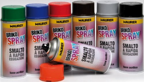 MAURER Spray Pintura Gris Claro 400 ml.