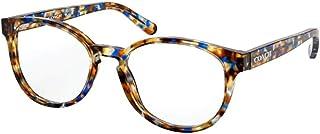 Eyeglasses Coach HC 6102 5549 Blue Tortoise