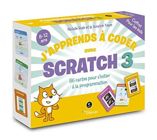 Coffret J'apprends à coder avec Scratch 3: 86 cartes pour s'initier à la programmation