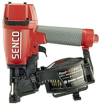 Senco 8V0001N 1-3/4  15 Degree Angle Wire Coil Nailer Red/Gray - 445Xp