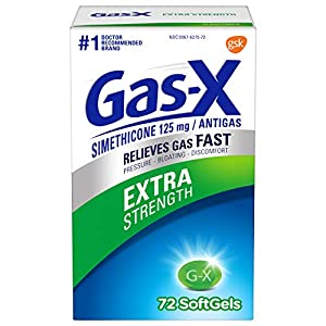 Gas-X Extra Strength Softgel for Fast Gas Relief, 72Count (300439005721)