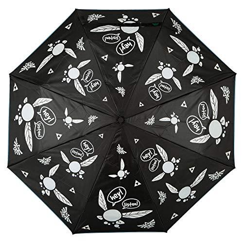 BW Zelda Navi Regenschirm mit Farbwechsel