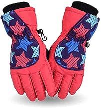 MU Wodoszczelne rękawice termiczne do jazdy na nartach, snowboardzie, dla chłopców i dziewczynek, dzieci, zimowe, śniegow...