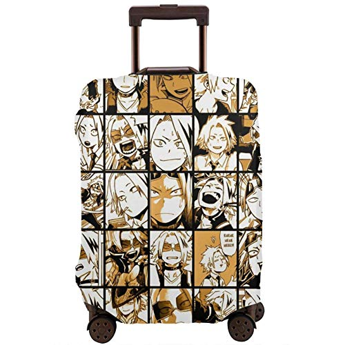 My Hero Academia Fashion Suitcase Protective Cover,Suitcase Protective Cover,Scratch-Resistant,dust-Proof and Waterproof, Washable,Suitable for 18-32 inches