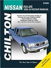 Nissan Pick-up, Xterra & Pathfinder 1998-2004 (Chilton's Total Car Care Repair Manual)