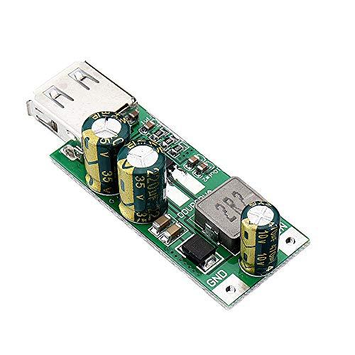 SHANG-JUN Fácil de Montar 20W DC-DC 3.3-5V al módulo 5V-12V convertidor del Alza del USB 2.0 QC3.0 FCP Cargador rápido for 18650 de Ion-Litio Li-Po batería de Litio 10pcs Conveniente