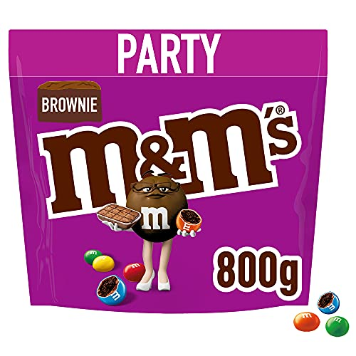 M&M's Brownie Chocolate Party Bulk Bag, Chocolate Gifts & Movie Night...