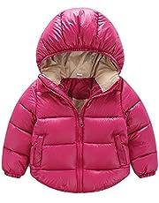(チーアン)Tiann キッズ ダウンジャケット 子供服 ダウンコート ダウン 中綿ジャケット アウター 女の子 男の子 フード付き 冬 防寒 全9色
