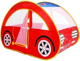 Dazzling Toys Pop-Up Tent Foldable Car Playhouse Happy Time Interactive Fun | Excellent for Indoor & Outdoor Use | Great for Kids & Pets | Easy Assembly + Compact & Portable Storage Case