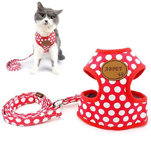 Zunea arnes Gato Nylon Soft Mesh Transpirable Mascotas