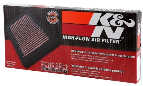 K&N 33-2925 Motorluftfilter: Hochleistung, Prämie, Abwaschbar, Ersatzfilter, Erhöhte Leistung, 2004-2018 IV, Twingo, Modus, Clio III, Logan, Sandero