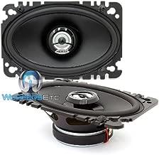 DCX 460.3 Hertz 4 x 6 Inch 2-Way 80W RMS DIECI Series Coaxial Speakers
