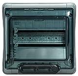 Legrand IP65 IK09 601978 - Caja magnetotérmicos (1 fila 8 módulos 220 x 200 x 115,6 mm)