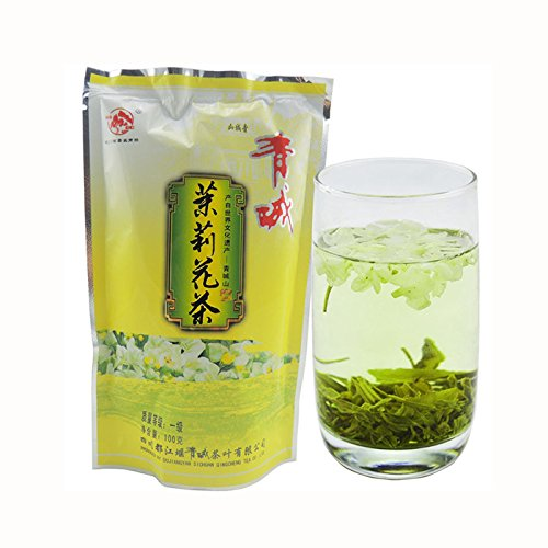 HuntGold 100g Premier niveau naturel thé au fleur thé au jasmin